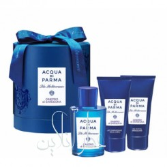 A COFF. SET ACQUA DI PARMA BLU MEDITERRANEO GINEPRO DI SARDEGNA EDT 150ML + SHOWER GEL 75ML + BODY LOTION 75ML UNISEX