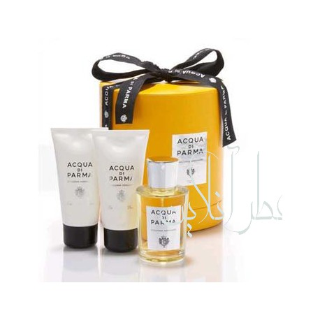 A COFF. SET ACQUA DI PARMA COLONIA ASSOLUTA EDC 100ML + SHOWER GEL 75ML + AFTER SHAVE 75ML UNISEX