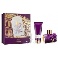 A COFF. SET CAROLINA HERRERA CH SUBLIME EDP 80ML + BODY LOTION 100ML WOMEN