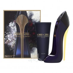 A COFF. SET CAROLINA HERRERA GOOD GIRL EDP 80ML + BODY LOTION (NEW 2018) 100ML WOMEN