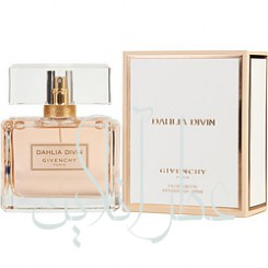 A COFF. SET GIVENCHY DAHLIA DIVIN EDT 50ML + MINIATURE 5ML + BAG WOMEN
