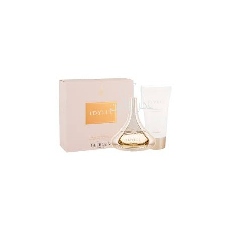 A COFF. SET GUERLAIN IDYLLE EDP 50ML + BODY LOTION 75ML WOMEN