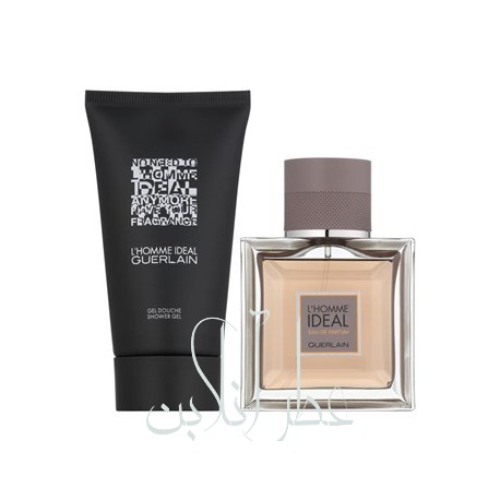 A COFF. SET GUERLAIN LHOMME IDEAL EDT 100ML + GEL DOUCHE 75ML (3) MEN