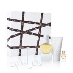 A COFF. SET HERMES JOUR D HERMES 3PCS EDP 85ML+MINIATURE 7.5ML+BODY LOTION 30ML WOMEN