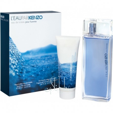 A COFF. SET KENZO LEAU KENZO POUR HOMME EDT 50ML+ SHOWER GEL 50ML MEN