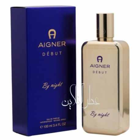 AIGNER DEBUT BY NIGHT EDP 100ML WOMEN