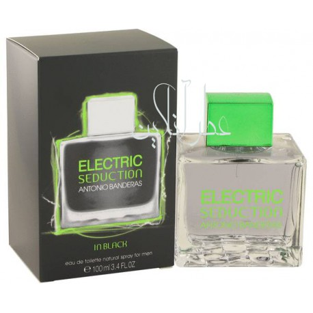 ANTONIO BANDERAS ELECTRIC SEDUCTION IN BLACK EDT 100ML MEN