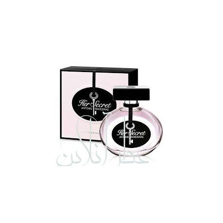 ANTONIO BANDERAS HER SECRET EDT 80ML WOMEN