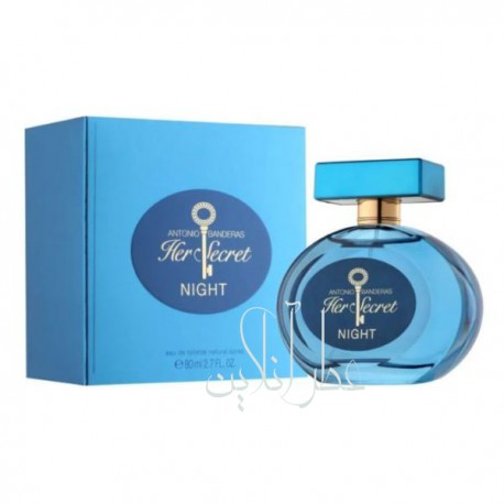 ANTONIO BANDERAS HER SECRET NIGHT EDT 80ML WOMEN