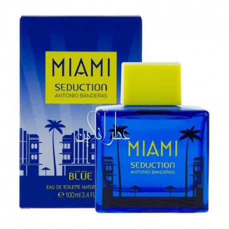ANTONIO BANDERAS MIAMI BLUE SEDUCTION EDT 100ML MEN