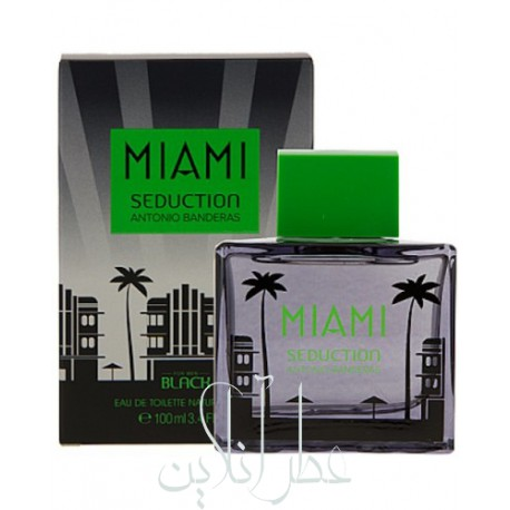 ANTONIO BANDERAS MIAMI SEDUCTION IN BLACK EDT 100ML MEN