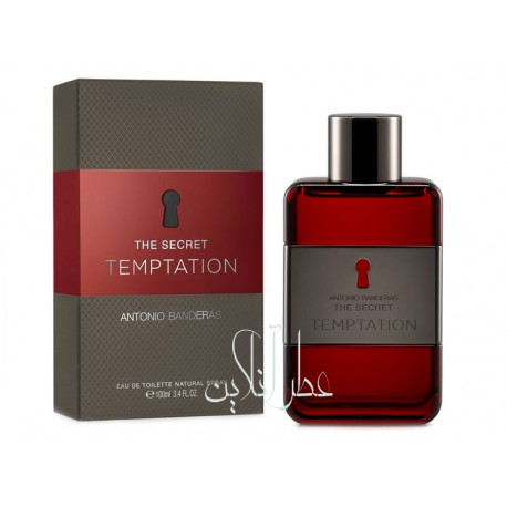ANTONIO BANDERAS THE SECRET TEMPTATION EDT 100ML MEN