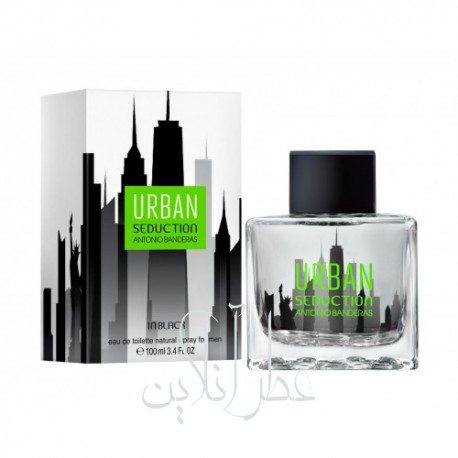 ANTONIO BANDERAS URBAN BLACK EDT 100ML MEN