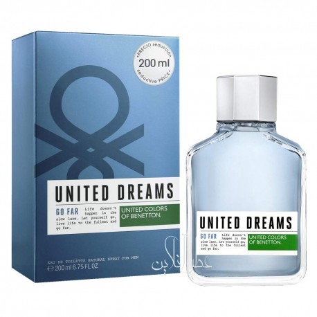 BENETTON UNITED DREAMS GO FAR EDT 200ML MEN